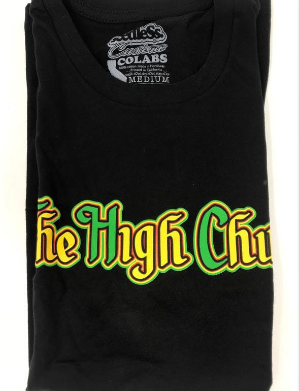 Black/ Rasta T-Shirt