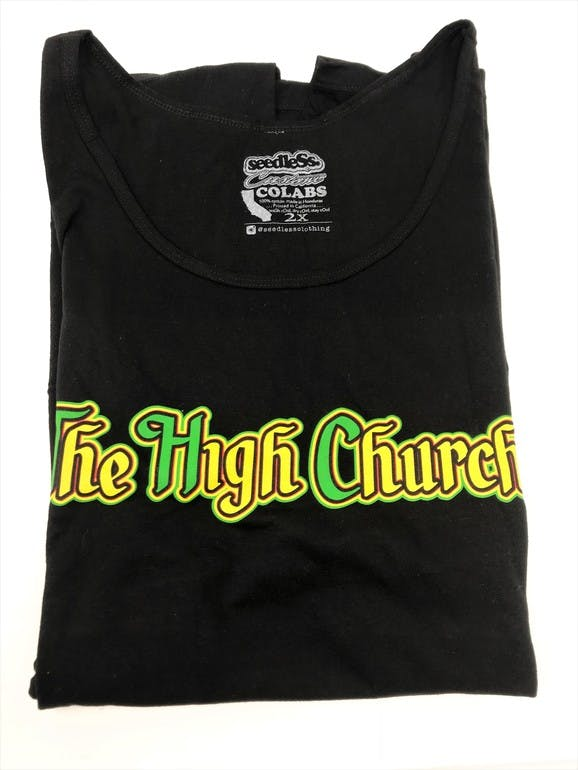 Black/ Rasta Men's Tank