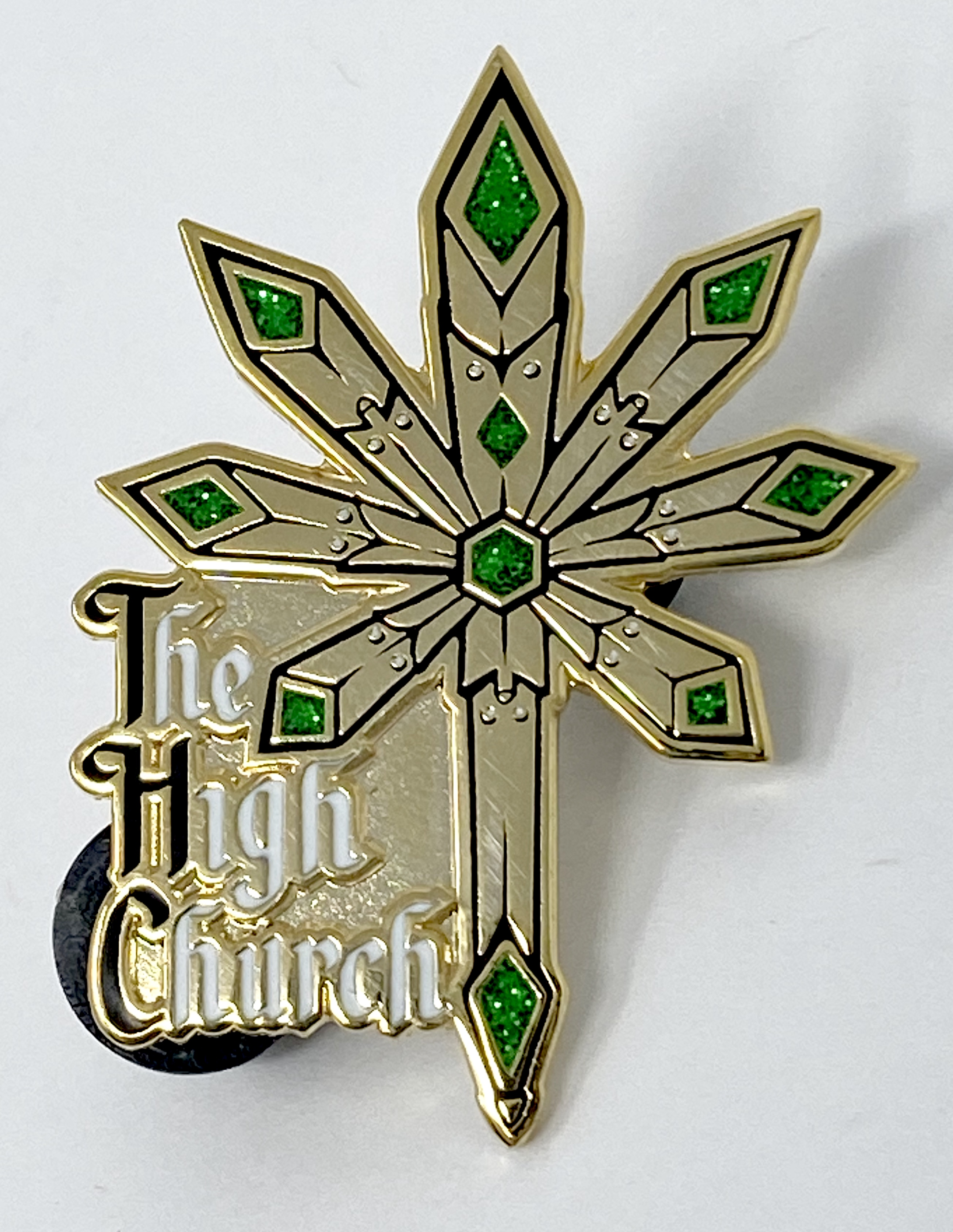 The High Church Pin
