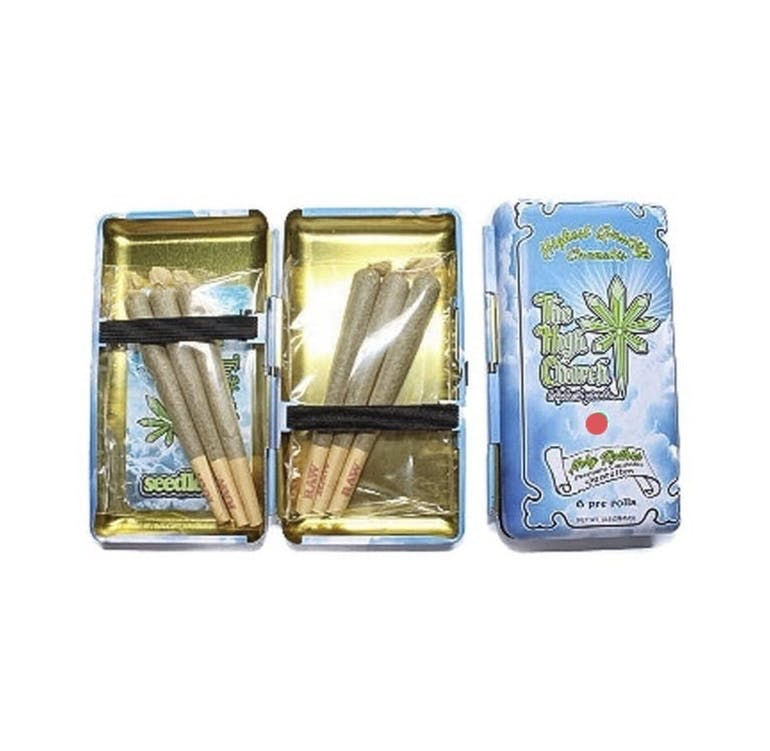 6 Pack Tin - Indica Prerolls