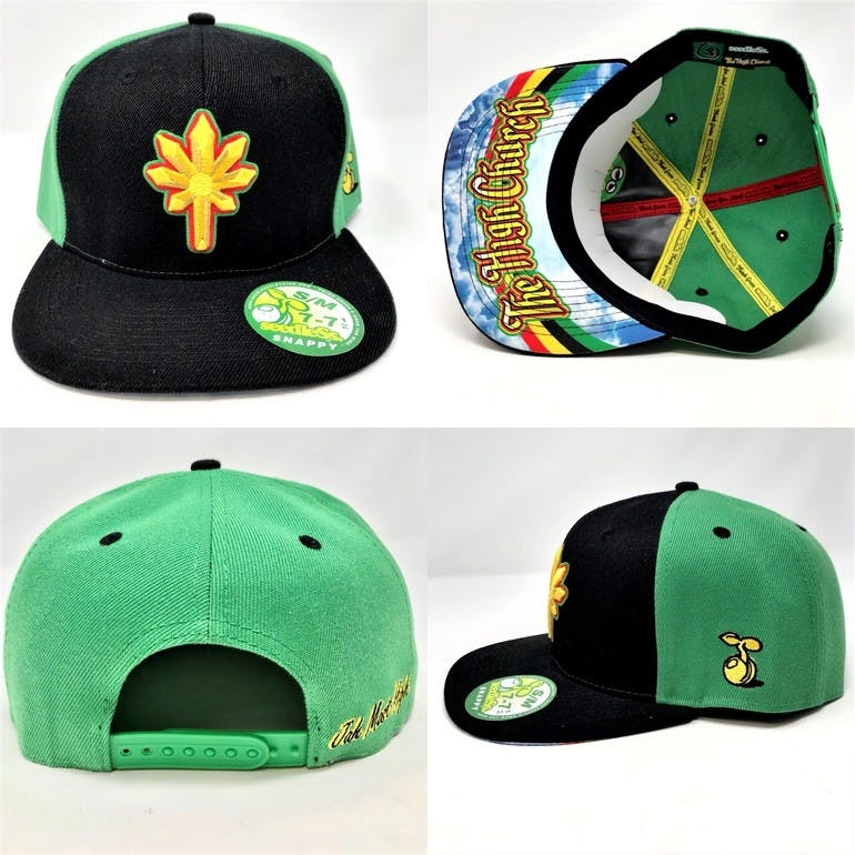 Rasta Snap Back Hat